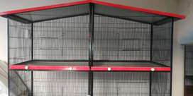 New Iron Cage for Sale for Budgies, Lovebirds and Ringneck