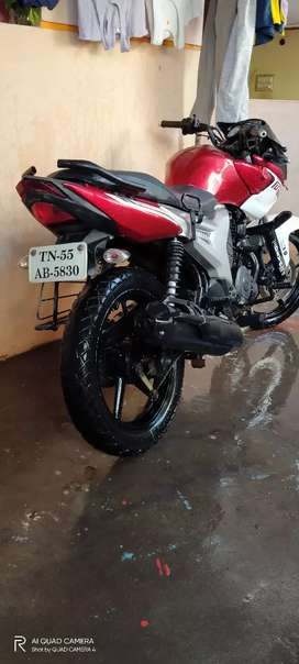 Yamaha sz r 2012 model,red with white colour only 20000 km runned