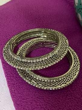 India stone bangles
