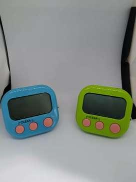 PROMO - kitchen timer Digital Alarm Dapur Masak Clock Stopwatch