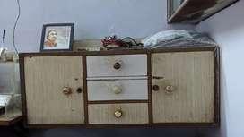 Showcase and cupboard