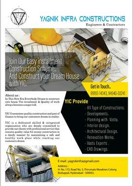Construction, Interior designing