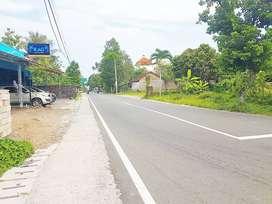 Tanah pinggir jalan utama dekat tengleng gajah jakal KM 9 dpt limasan