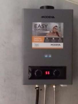 Water Heater Gas Modena (Mandi Air Hangatku)