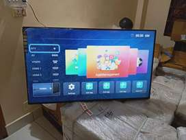New led tv 42 inch with 2year warranty home delivery free Samsung pane