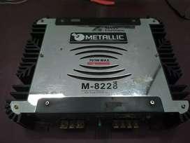 Power 2 channel 700 watt M-8228 Metallic Mass Emgineering
