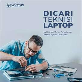 Lowongan Teknisi Laptop untuk gabung di Lasercom