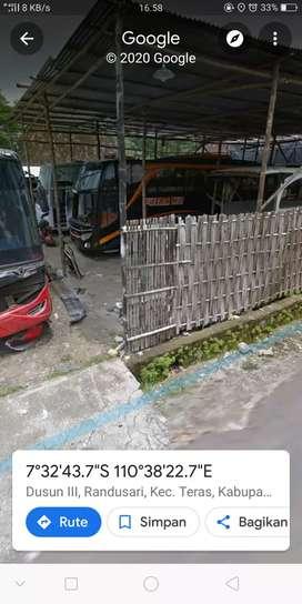 Bengkel mobil bus  .Randusari teras