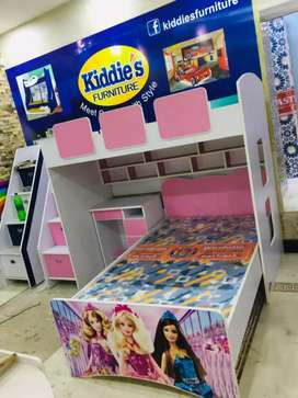 Barbie double bunk bed for girls