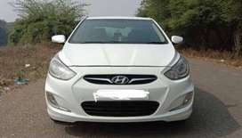 Hyundai Verna Fluidic for spares only