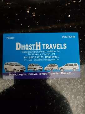 Driver in Travels. Thrikkakara