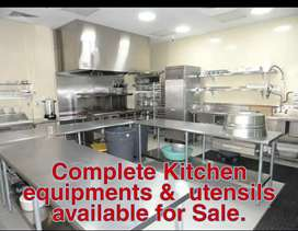 Complete Kitchen Setup available for Sale on urgent basis.