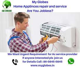 Want Ac Service provider
