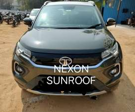 2280/day new nexon sunroof for self drive cars from longdrivecars