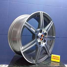 pelek mobil expander ring 16 HSR wheel R16 greey polis