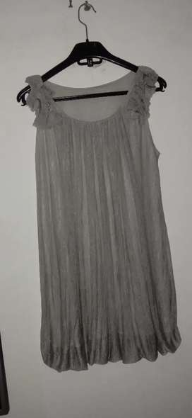 Dress 3/4 warna abu²