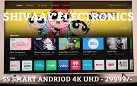 55 Inch SMART ANDRIOD 4K UHD PANNEL WITH BEST PRICE BEST PICTURE QULTY