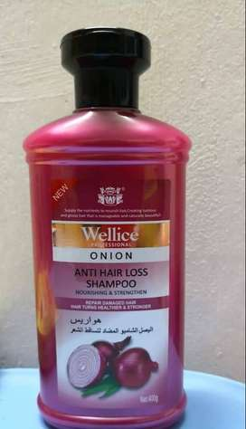 Wellice hair shampoo with 100%result