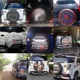 tutup/Cover/Sarung Ban Ford/Rush/Terios/Taft jeep mewah berkualitas no