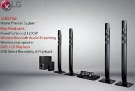 Home theater LG LHD756 bluetooth