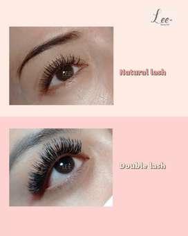 Natural single lash