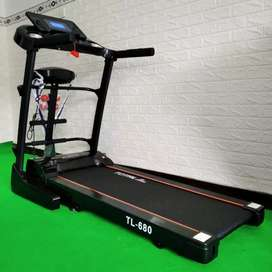 Treadmill Electric 3 in 1 TL 680 + Dumble Set 60 Kg Total Package