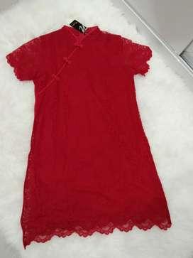 Dress Imlek wanita
