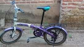 Sepeda lipat ukuran 20 Phoenix