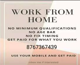 Pop up your earnings by earning from home part time jobs available
