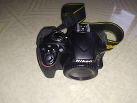 Nikon d3400 with 3 Lens and Accessories