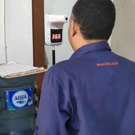 Termometer otomatis wall mounted Garansi 1 Tahun