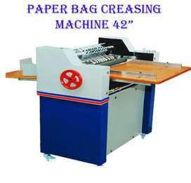 Paper Bag Machine Creasing Machine for Sale