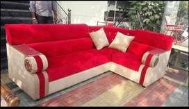 Red black price emi available tanveer furniture brand new sofa set sel