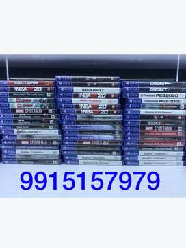 Ps4 and ps3 games for rent and sale