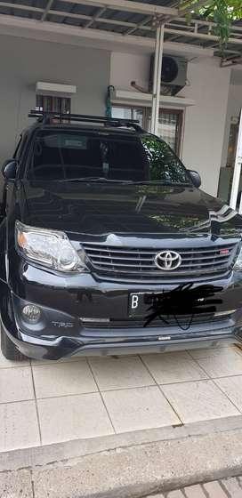 Toyota fortuner trd AT, 2014 akhir