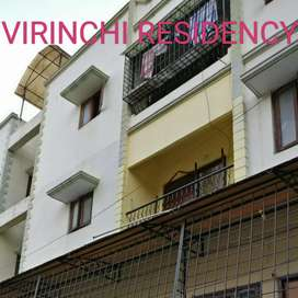 2BHK with double  bedrooms