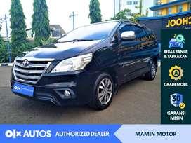[OLX Autos] Toyota Kijang Innova 2015 2.0 G A/T Hitam #Mamin Motor
