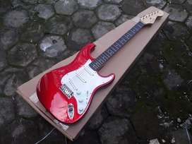 Gitar fender stratocaster 60s style high quality standart pabrikan