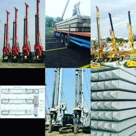 Tiang Pancang Beton K50, Segitiga, Segi empat, Murah Langsung Pabrik.