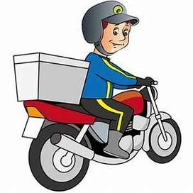 Wanted food delivery Boy