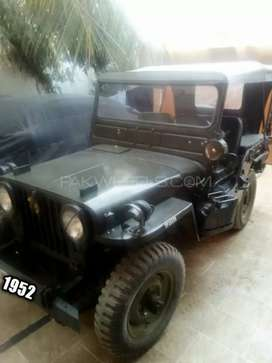 Willys 1952 jeep