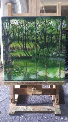 Lukisan cat minyak