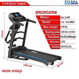 treadmill 619 dan 618 listrik murah