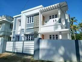 4 cent 1450 sqft 3 bhk new build house at aluva near malikampeedika