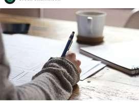 Handwriring work