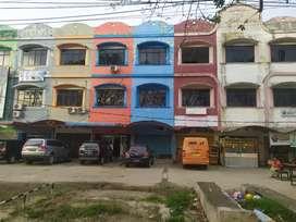 Disewakan ruko jalan residen abdul rozak patal pusri palembang