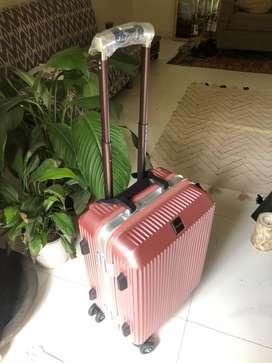 Brand new Rose Gold luggage bag (hard case)