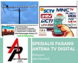 Workshop pasang baru antena tv terbaik bantar gebang
