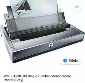 Box pack dot matrix printer