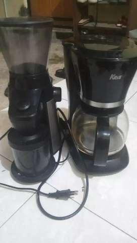 Grinder dan coffe maker